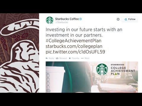 Starbucks College Achievement Plan Helps Employees Earn Degree, For Free?