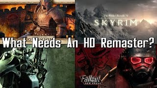 Which Bethesda Game Deserves An HD Remaster?