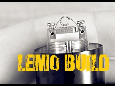 Lemo RTA Standard and Micro Coil Build!