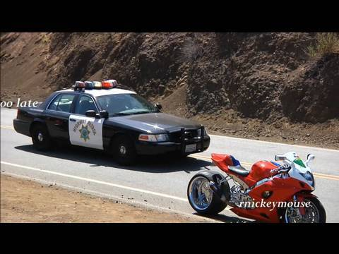 Supermoto Police Chase Music Videos