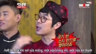 Vietsub Running Man Ep 92 HD Park Jin Young  Một Nửa Không Khí Một Nửa âm Thanh