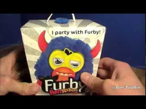 Hasbro Furby Party Rockers Bleu sur monjouet.ch