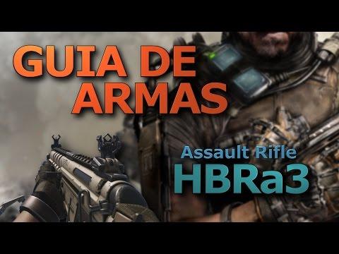 Guia de Armas: HBRa3 - Advanced Warfare Multiplayer