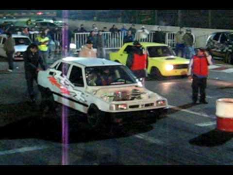ABA RACING Picadas de autos galvez 1/4 de Milla.avi