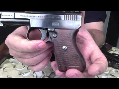 Mauser Pocket Pistol 25ACP 6.35mm Scarce With Unit Markings - Texas Gun Blog