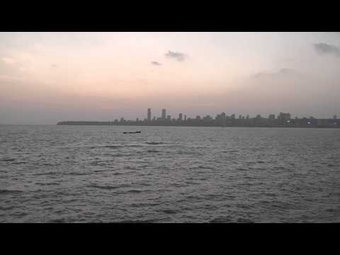 SPELLBINDING SKYLINE OF MARINE DRIVE, MUMBAI !!!!