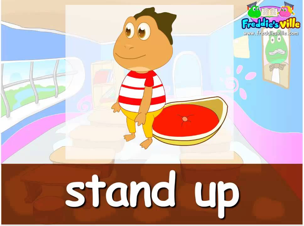 Classroom Commands English For Children Good Tpr Lesson