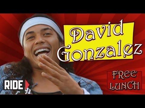 2012 SOTY David Gonzalez Talks Bam Margera, Taxi Fights, and More on Free Lunch!