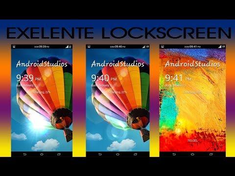 [Galaxy Locker] Pantalla de bloqueo con efecto samsung s4. note 2 y note 3   AndroidStudios