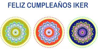 Iker   Indian Designs - Happy Birthday