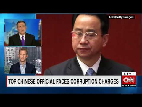 Anti Corruption Campaign Underway in China