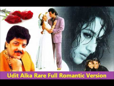 Udit Alka Rare Full Romantic HQ Version - Aye Kaash Tum Kehdo...