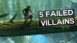 Skyrim - 5 Failed Villains