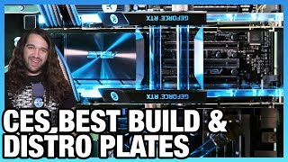 EK Waterblocks - Best Build of CES, Distro Plates for Cases, Valkyrie AIO