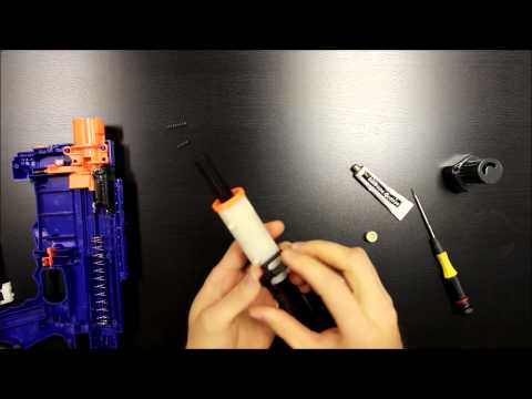 Unleashed Solid Stage 2 Installation for Nerf Retaliator by Orange Mod Works