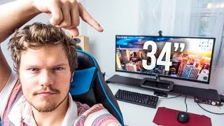 "LG 34"" Ultrawide IPS Monitor Review - The Best Monitor for Multitasking!"