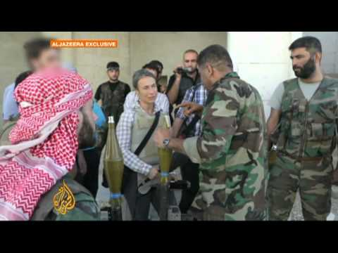Syrian rebels gain ground in Aleppo