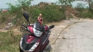 Chạy Xe Lên   Xuống Núi Sập -Thoại Sơn  - An Giang