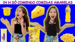 24 H SÓ COMENDO COMIDAS AMARELAS
