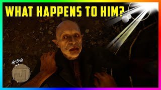 What Happens To The Vampire In Red Dead Redemption 2 If You Expose Him To Sunlight? (RDR2)