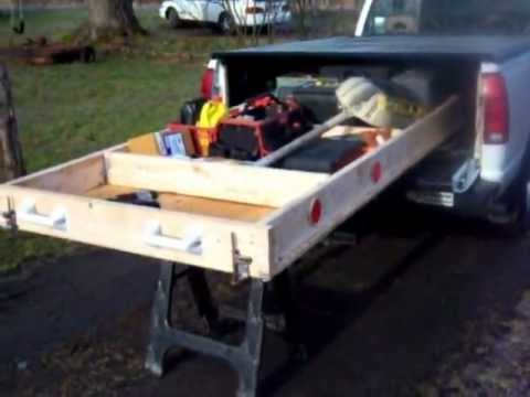 Covered Pickup Truck Storage Solution How To Make Amp Do