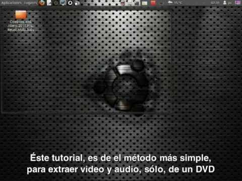 Extraer audio y video, de los dvd's originales o de carpeta VIDEO_TS
