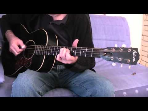 The yellow princess - Cover John Fahey - Gibson L00
