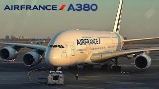 Air France A380, New York JFK to Paris CDG, (Upper Deck) [FULL FLIGHT REPORT