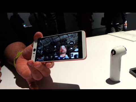 HTC Re Cam & Desire Eye Software: Zoe and Eye Experience