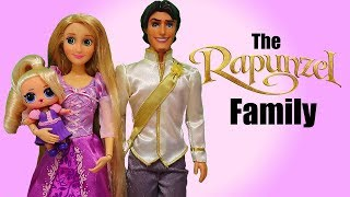 Barbie Doll LOL Family Rapunzel Goes to Ariel's Wedding ! Toys and Dolls Play for Kids   SWTAD