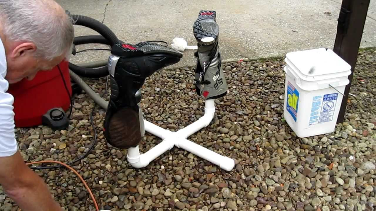 Mx Boot Wash And Dry Rack Using Inch Amp A Half Pipe And A