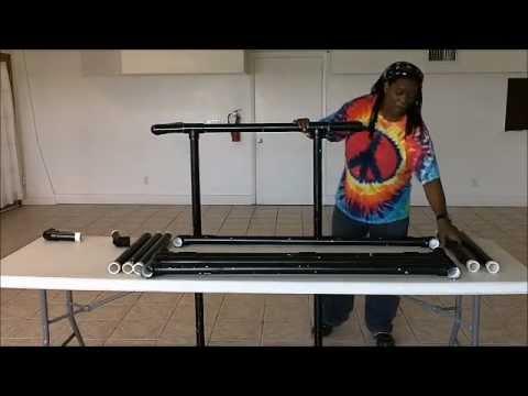 DJ Tips how to make a mobile DJ booth diy adjustable