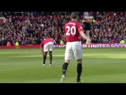 Robin Van Persie - The New Hero Of Manchester United - 2013 HD