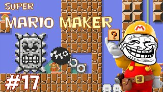 Mario Maker Troll Levels - Don