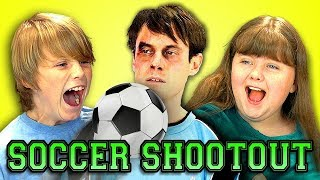 Kids React to Top Soccer Shootout Ever With Scott Sterling