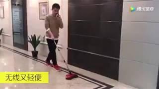 Cách sử dụng Chổi thông minh vừa quét vừa lau