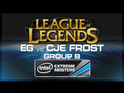 Evil Geniuses vs CJE Frost - LoL (Group B) - IEM World Championship 2013