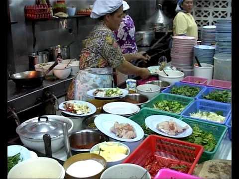 thai restaurant kitchen hua hin youtube