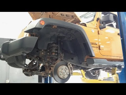 Jeep Wrangler Front Axle Seals Replacement