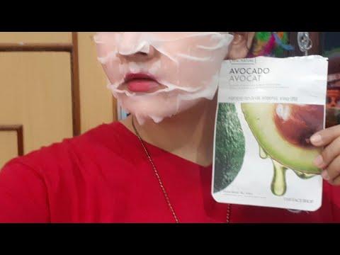 The face shop avocado sheet mask review