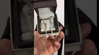 1.14 Ct. Diamond Climber Drop Dangle Earrings Rose, Yellow, or White Gold 14k