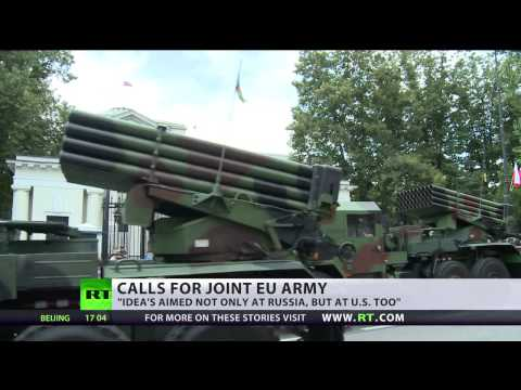 Joint EU Army? Germany, Finland back idea, UK & France wary