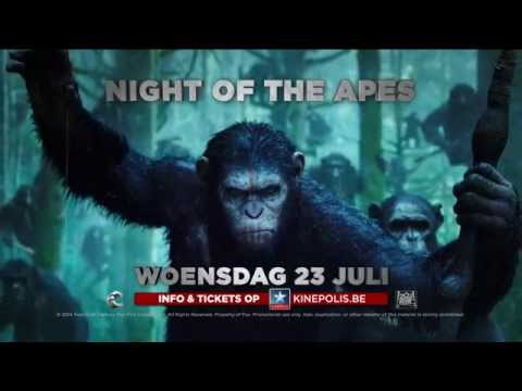 Dawn of the Planet of the Apes - Night of the Apes Trailer (Vlaams)
