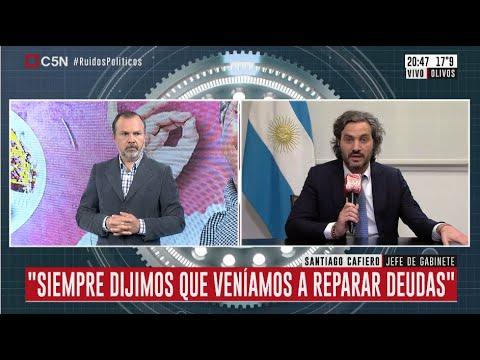 Cuanto dinero aporto el gobierno nacional al porteño durante la cuarentena, segun Santiago Cafiero