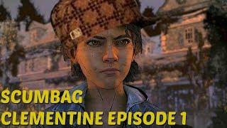 Scumbag Clementine - The Walking Dead:Season 4: Episode 1 - The Final Season