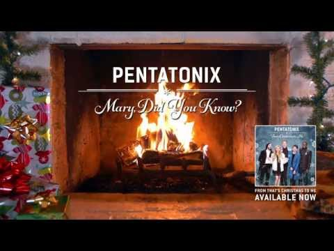 [yule Log Audio] Mary, Did You Know? - Pentatonix video