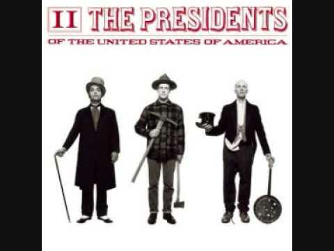 Presidents Of The United States Of America - Tiki God