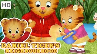 Daniel Tiger 🐣 Baby and Me! (Part 2/2) | Videos for Kids