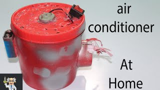 How to make air conditioner at home   Easy Tutorials