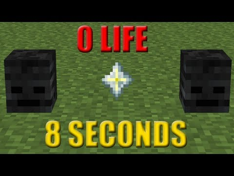 How to kill the Wither boss in 8 seconds without taking any damage - FTB